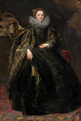 Sir  Anthonis van Dyck - Marchesa Balbi