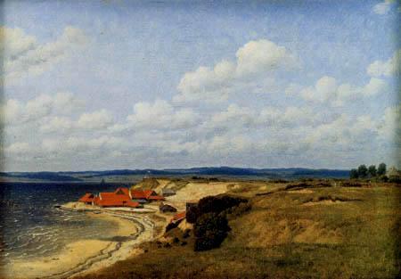 Christoffer V. Eckersberg - An der Flensburger Förde