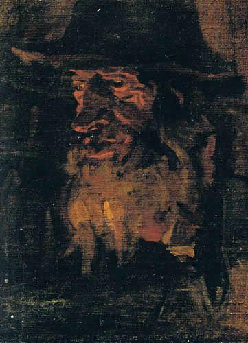 Albin Egger-Lienz - Head of a Man
