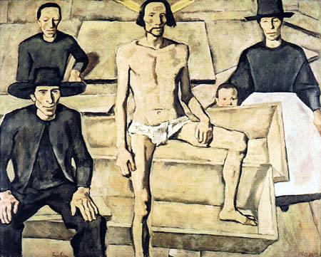 Albin Egger-Lienz - Resurrection of Christ