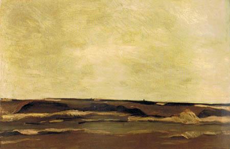 Albin Egger-Lienz - Das Meer, Katwijk