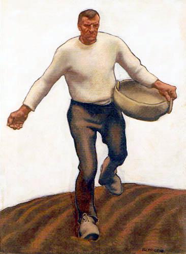 Albin Egger-Lienz - The Sower