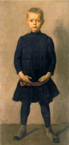 Albin Egger-Lienz - The artist's son, Fred