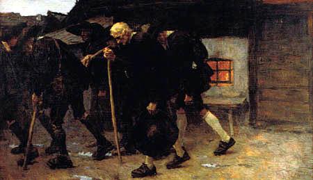 Albin Egger-Lienz - Après la conclusion de la paix 1809