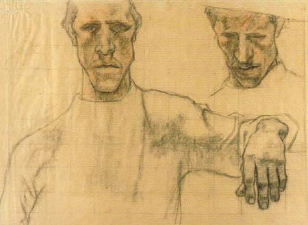 Albin Egger-Lienz - Study