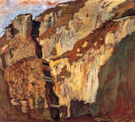 Albin Egger-Lienz - Climb to the Positions of the Mount Pasubio