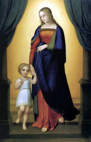 Marie Ellenrieder - Maria with the Jesus child