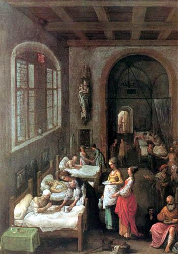 Adam Elsheimer - St Elizabeth Tending the Sick