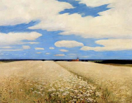 Hans am Ende - Sommerwolken über dem Weyerberg