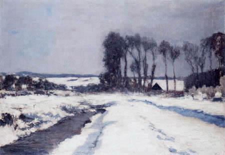 Hans am Ende - Gehöft im Schnee