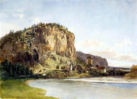 Thomas Ender - Mountain Landscape