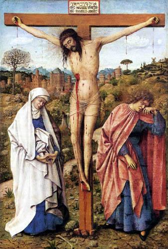 Hubert van Eyck - Crucifixion