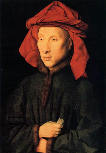 Jan van Eyck - Portrait of Giovanni Arnolfini