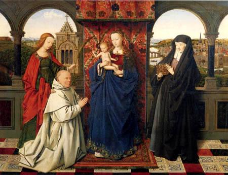 Jan van Eyck - The Virgin and the child