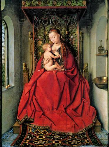 Jan van Eyck - Lucca Madonna