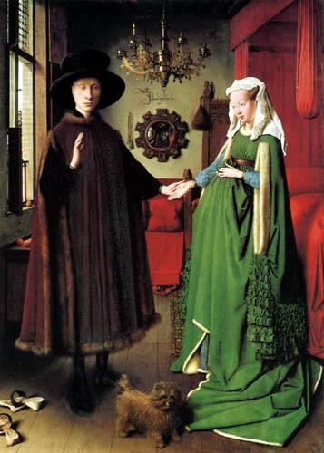 Jan van Eyck - Die Hochzeit des Arnolfini