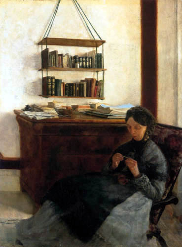 Louis Eysen - The mother of the artist