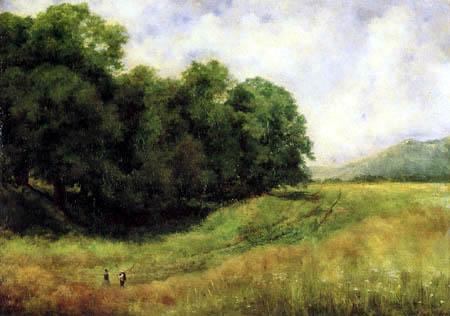 Louis Eysen - Path near Kronberg, Taunus