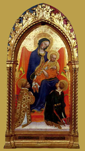 Gentile da Fabriano - Madonna with child