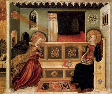 Gentile da Fabriano - La Anunciación