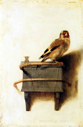 Carel Fabritius - Der Distelfink