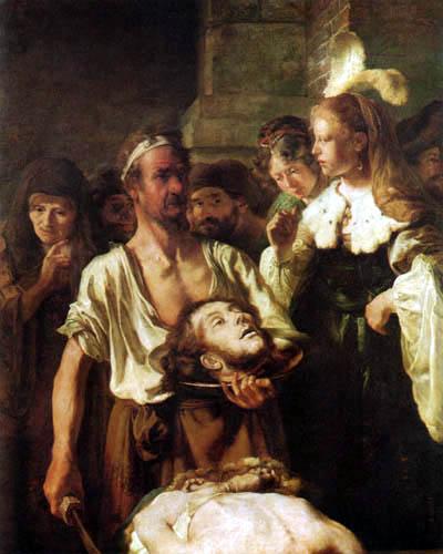 Carel Fabritius - La décapitation de Jean le Baptiste