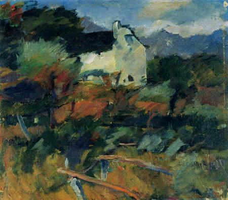 Anton Faistauer - Die alte Mühle bei Maishofen