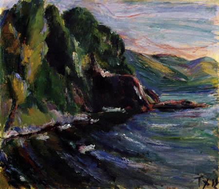 Anton Faistauer - Meeresküste