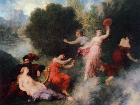 Henri Fantin-Latour - Szene aus 'Tannhäuser'