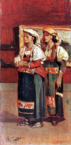 Giovanni Fattori - Zwei Bäuerinnen