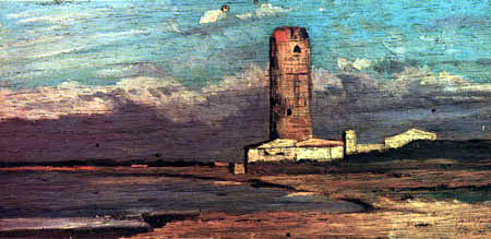 Giovanni Fattori - Der rote Turm