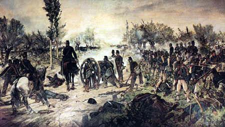 Giovanni Fattori - Die Schlacht von Custoza