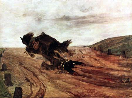Giovanni Fattori - Der Fuß im Steigbügel