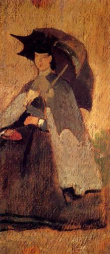 Giovanni Fattori - Mujer en el sol