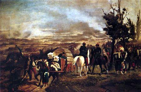 Giovanni Fattori - Die Schlacht von Magenta