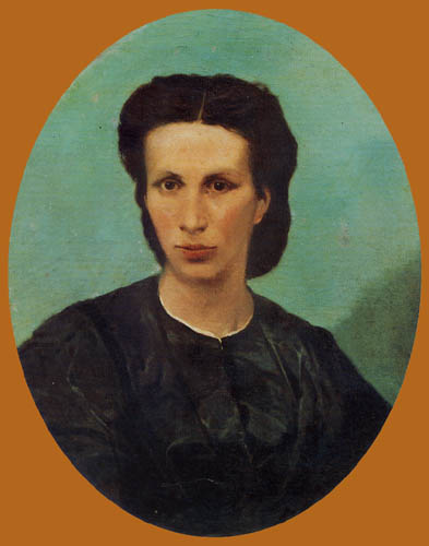 Giovanni Fattori - Porträt Frau Biliotti