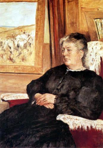 Giovanni Fattori - Die Frau des Künstlers