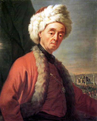 Antoine de Favray - Selbstbildnis
