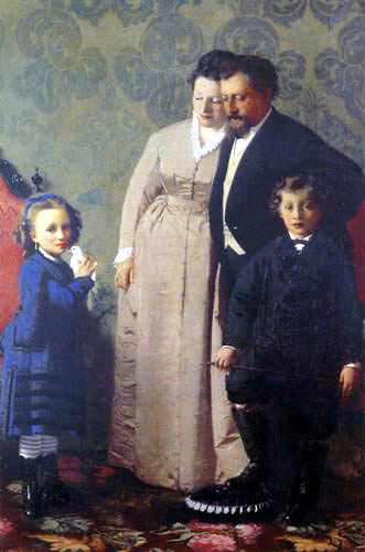 Giacomo Favretto - Family Guidini