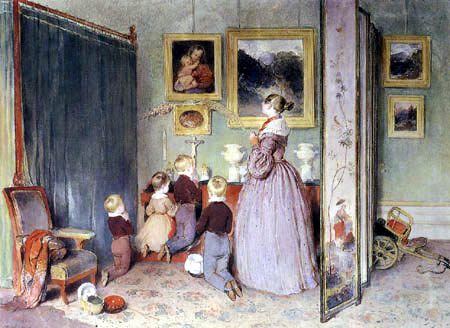 Peter Fendi - Archduchess Sophie with his childs
