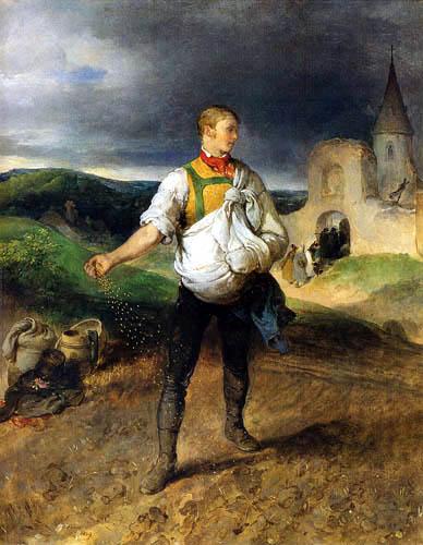 Peter Fendi - The sower