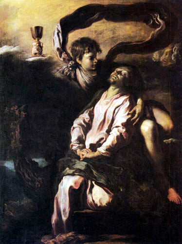 Domenico Fetti - Christ à Mont des Oliviers