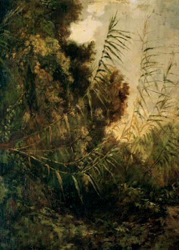 Anselm Feuerbach - Natur- und Pflanzenstudie