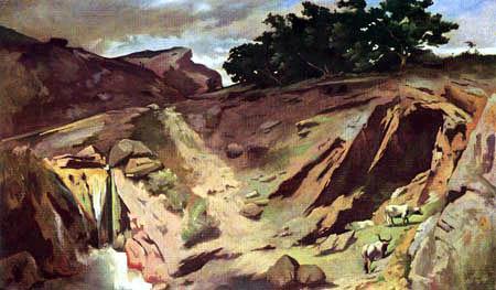 Anselm Feuerbach - Landschaft