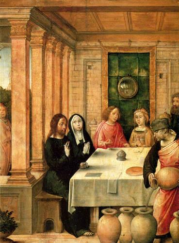 Juan de Flandes - Marriage at Cana
