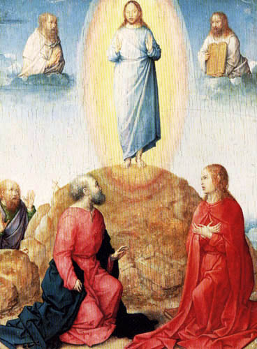 Juan de Flandes - Die Verklärung
