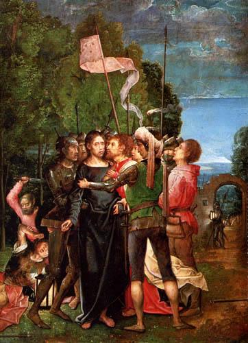 Juan de Flandes - Die Gefangennahme