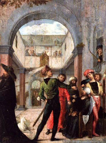 Juan de Flandes - The mocking
