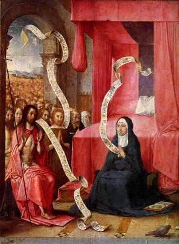 Juan de Flandes - Jesus erscheint seiner Mutter