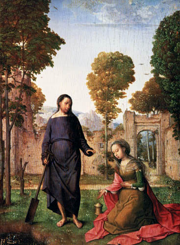 Juan de Flandes - Noli me Tangere
